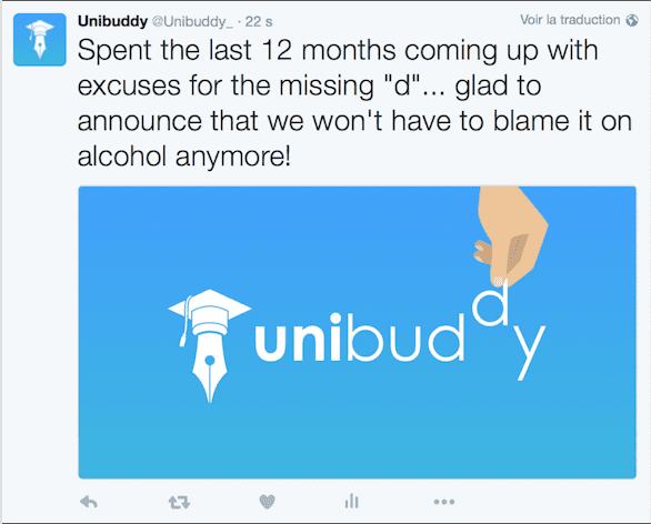 Unibudy becomes Unibuddy