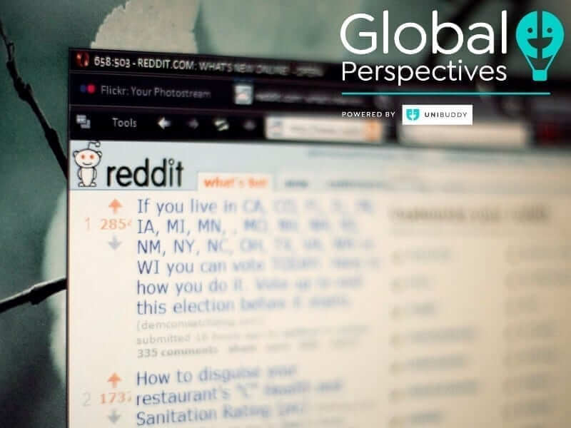 Global Perspectives ApplyingToCollege Reddit for Higher Ed